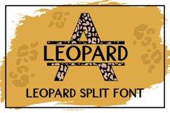Leopard Split Font - A Monogram Font Product Image 6