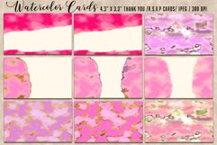 Luxury Gold Watercolor Bundle. Watercolor textures kit, Product Image 3