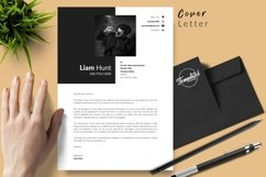 Modern Resume CV Template for Word & Pages Liam Hunt Product Image 5