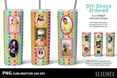 DIY Photo Frames PNGs - Tumbler Sublimation Designs 20oz Product Image 4