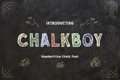 Chalkboy - Handwritten Chalk Font Product Image 1