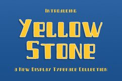 Yellow Stone Product Image 1