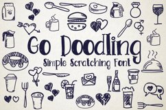 Go Doodling, Scratching Font Product Image 1