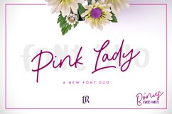 Pink Lady Font Duo Product Image 1