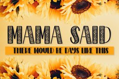 Sunflower - A Sunflower Duo Font Product Image 5