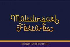 Barokah Ramadhan - Arabic Fauxlang Font // Web Font Product Image 3