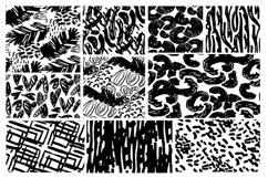 Abstract hand drawn pattern mega set Product Image 2