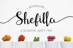 Shefilla Script Font Product Image 1