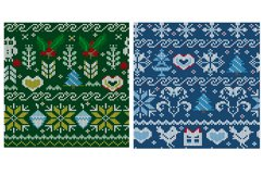 Knitted elements, symbols and Christmas decorations Product Image 4