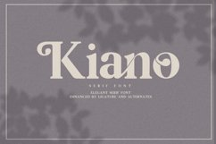 Kiano 3 Fonts Update Product Image 2