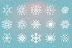 54 Vector Snowflakes Product Image 3