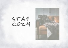 Cozy - A Handwritten Display Font Product Image 3