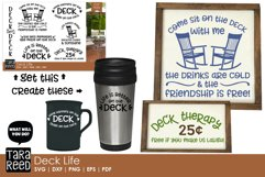 Deck Life - Outdoor Living SVG and Cut Files for Crafters Product Image 2