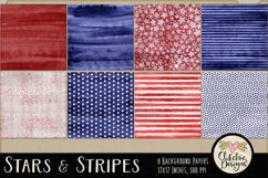 Stars and Stripes Background Textures Product Image 2
