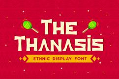 Thanasis - Ethnic Display Font Product Image 1