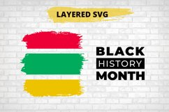 Black History Month SVG, African American Cut File Product Image 3