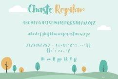 Web Font Chaste Display 3 Font Product Image 4