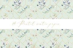 Pastel winter digital paper, seamless pattern Product Image 4