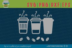 Coffee SVG - Coffee Cup SVG - Coffee Mug SVG - Coffee Beans Product Image 1