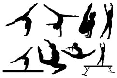 Gymnast Silhouettes Vol1 Product Image 2