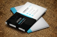 Black Business Card Product Image 1