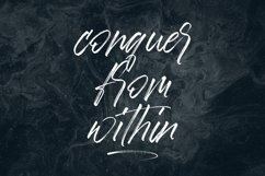 Aerobrush Handwritten Font Product Image 5