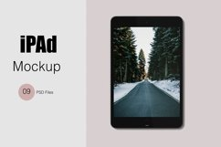iPad Mockup Product Image 1