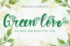 Green Love Product Image 1
