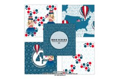 Independence Day Paper Pack Fashion Illustration Planner Product Image 4