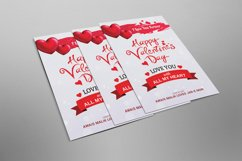 Valentine Day Psd Flyer Product Image 2