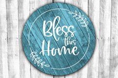 Round Sign Bundle - Round SVG Files - Farmhouse Signs Product Image 10