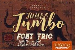Jumbo Font Trio Product Image 1