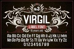 """Vintage otf font """"Virgil"""" Product Image 1"""
