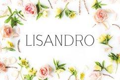 Lisandro Slab Serif Font Product Image 1