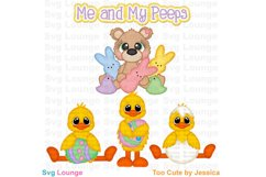 Easter Me and My Peeps SVG Cut File Product Image 1