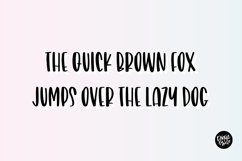 FRANKLY FABULOUS Bold Brush Font Product Image 2