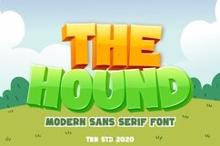 The Hound - Modern Cartoon Font Product Image 1