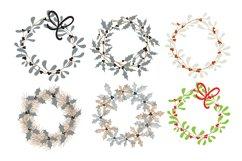 Set of Christmas wreaths Product Image 3