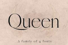 QUEEN, An Elegant Serif Font Product Image 1