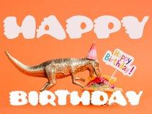 Cute Dino Dinosaur Font Product Image 2