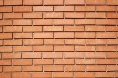 Orange brick wall Product Image 1