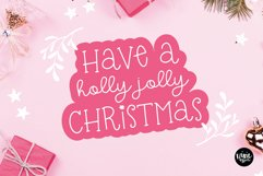 CHRISTMAS MISTLETOE a Script - Serif Christmas Font Duo Product Image 3