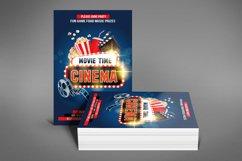 Cinema Movie Flyer Product Image 4