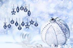 Christmas Font - Festive Balls Product Image 2