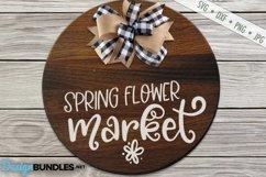 Spring Flower Market SVG | Gardening SVG |Spring SVG Product Image 1