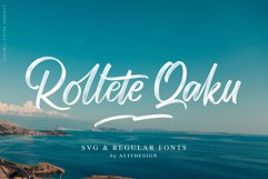 Rollete Qaku SVG & Regular fonts Product Image 1