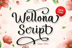 Wellona Script Product Image 1