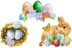 Watercolor Happy Easter 2 Product Image 3