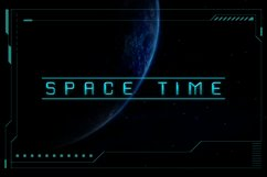 Exo Space Futuristic Display Font Product Image 6