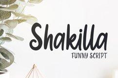 Shakilla - Funny Script Product Image 1